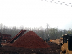 making-red-mulch