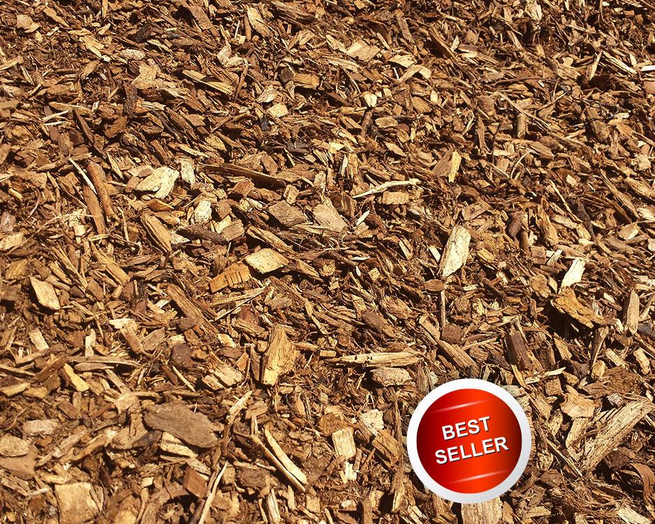 Double Shredded Hardwood Timber Ridge Wood